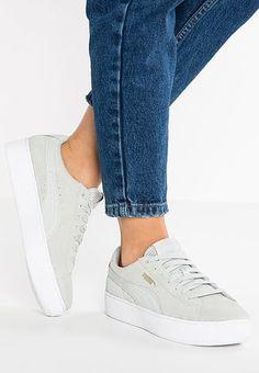 9042683186573 SUEDE PLATFORM CORE - Sneakers laag - halogen blue whisper white    Zalando.nl 🛒