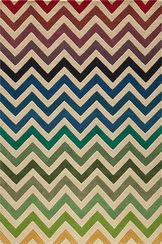 @rosenberryrooms is offering $20 OFF your purchase! Share the news and save!  Delhi Light Rainbow Chevron Rug #rosenberryrooms