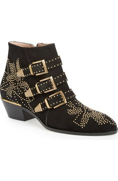 Chloé 'Susanna' Stud Bootie (Women) available at #Nordstrom