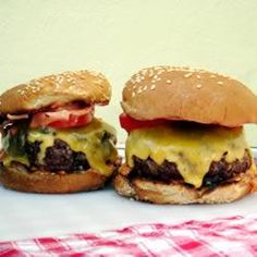 "Ranch Burgers | ""What amazing burgers. My husband is very fussy when it comes to eating a burger and he could not get over how great this one tasted."""