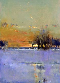 ☼ Painterly Landscape Escape ☼ landscape painting by Brian Ryder