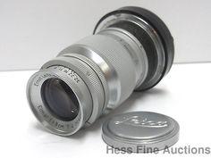Ernst Leitz Elmar f=9cm 1:4 No 837408 Wetzlar Vintage Camera Lens #Leitz