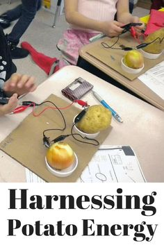 Students harness the power of a Potato!