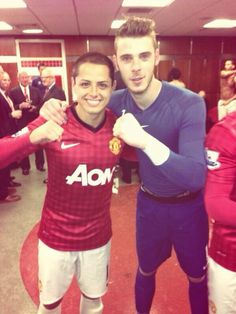 De Gea and Chicharito