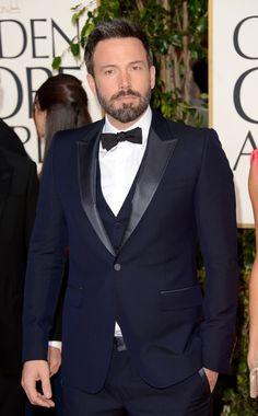 La red carpet de la 70 Entrega de los Golden Globes. Ben Afleck