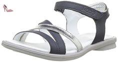 Mod8 JELGUY2, Sandales Bout Ouvert Fille, Bleu (Marine Argent), 31 EU - Chaussures mod8 (*Partner-Link)