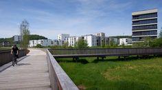 Water-retention Boulevard Luxembourg by ELYPS Landscape  Urban Design