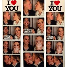 Pin for Later: Promposals Are the New Proposals Photo Booth