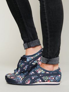 One way to shake off the winter blues without freezing your butt off: Women's Audrey Runner by Onitsuka Tiger via Free People