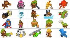 Bloons+TD+Battles+Towers+Official+Art   Bloons Tower Defense 4 Dart Monkey Tack Shooter Boomerang Throwerpng