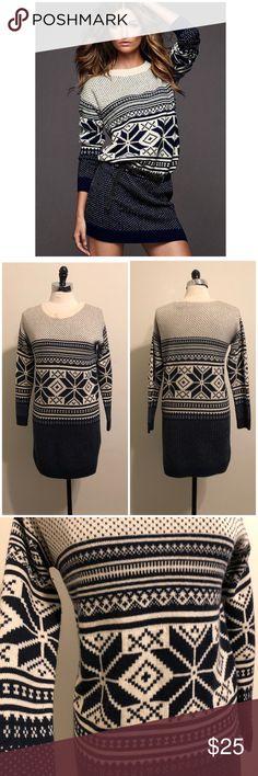 Victoria's Secret Fair Isle Sweater Dress Size small. Mods International from VS. Acrylic, wool. EUC Victoria's Secret Dresses