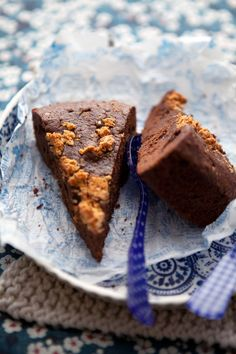 Chocolate, chestnut and amaretti cake