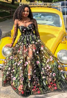 Embroidered formal dress / Floral maxi dress Evening dress Prom dress Floral Dress Long evening dress Long gown Embroidered dress Ball on Storenvy
