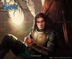 Ser Cletus Yronwood by Alexandre Dainche (Fantasy Flight Games)
