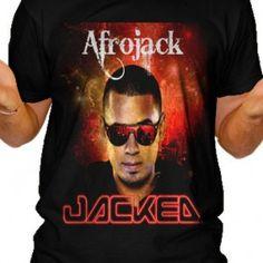 Afrojack Jacked Tour Men T-Shirt