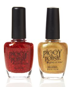 Wishes and Dreams & Gold For It Nail Polish Set