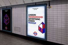 London Underground Advertising Screen Mockup to showcase your advertisement poster in a photo-realistic appearance. This mockup is a fully layered PSD with a smart object feature so it's easy to replace current logo just in seconds.- Photo realistic- Fully layered PSD (minimum CS5)- 3000×2000 pixels