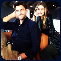 Johannes Huebl & Olivia Palermo couple's fashion