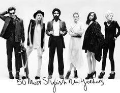 50 Most Stylish New Yorkers (Stylecaster) Fashion Models, High Fashion, Fashion Wallpaper, Stylish Hair, Fashion Stylist, New York Fashion, Editorial Fashion, Style Me, Stylists
