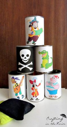 Neverland Pirates Birthday Party | Crafting in the Rain