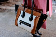 An Up-Close Look at All the Gorgeous Shoes and Bags of Fashion Week: New York Fashion Week Street Style Fall 2013 Street Style Shoes, New York Fashion Week Street Style, Autumn Street Style, Fashion Shoes, Fashion Accessories, Women's Fashion, Celine Tote, Bags Online Shopping, Classic Handbags