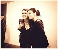 Sharon Den Adel and Cristina Scabbia