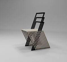 LADDER CHAIR by Bogoje Bojovic Armchairs, Sofas, Chair Design, Furniture Design, Ladder Chair, Home Decor, Architecture, Wing Chairs, Couches