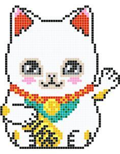 Maneki Neko White                                                                                                                                                                                 Plus