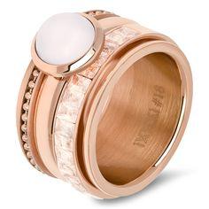 IXXXi Ring compleet rosé goud zachtroze nieuwe collectie