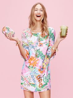 The Lilly Pulitzer x Target Lookbook Is Here, And It's a Tropical Prepster's Dream Wardrobe | Bustle