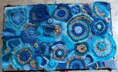 Cal couverture free form - La Grenouille Tricote