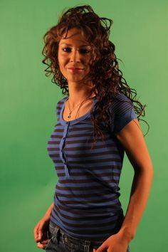 T-Shirt Donna Blend (BO-4706-11) colore Blu