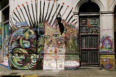 #San #Telmo #Argentina #street #art #graffiti #travel #inspiration