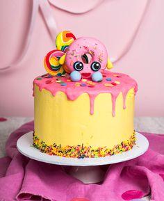 Shopkins Donut Drip Cake