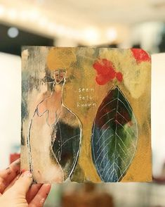 """Seen Felt Known"" Brave intuitive Mini Painting by Portland, Oregon based painter Flora Bowley Flora Bowley, Mini Paintings, Watercolor Sketch, All Art, Art Reference, Artsy, My Favorite Things, Abstract, Drawings"