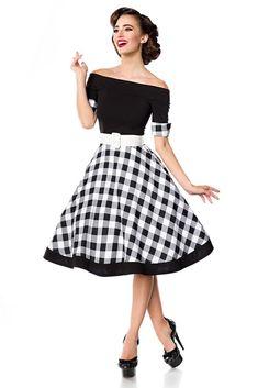 d430d2c0c294 Retro šaty s kostkovanou sukní - koupit online na Glara.cz  saty  šaty