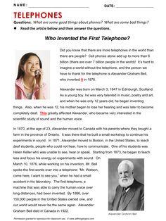 Telephone, Phone, English, Learning English, Vocabulary, ESL, English Phrases…