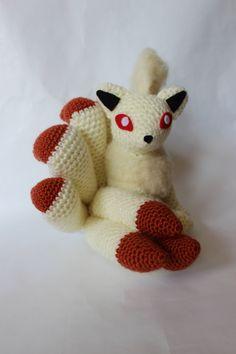 OMG A CROCHET NINETAILS #crochet pokemon