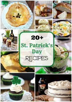 20+ St. Patrick's Day Recipes