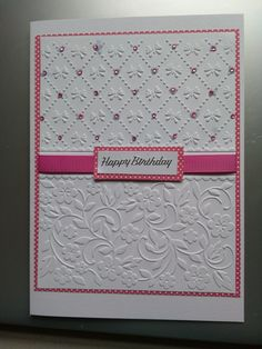 Images About Embossed Cuttlebug Card Ideas On