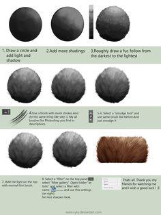 Fur tutorial for Adobe Photoshop by ryky on DeviantArt