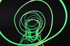 Electric Optics Magnetic Green EL Wire (Sold By The Foot)