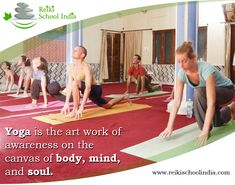We offer #Yoga_classes for our #Reiki students. Classes are also open for general public.  #Hatha_Yoga for beginners - 1 hour Hatha Yoga for intermediate - 1 hour, 30 minutes #Meditation - 45 minutes #Mantra_chanting - 30 minutes (free of charge) Please, wear loose clothing. Do not eat heavy foods before the classes. www.reikischoolindia.com