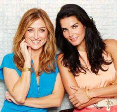 Sasha Alexander and Angie Harmon