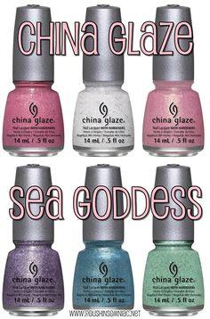 China Glaze Sea Goddess Collection