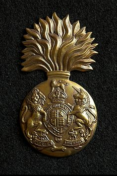 The badge of the Royal Scots Fusiliers