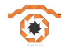 las formas que la geometría y el papel encierran:      °o[jo]rigami°  #lamiradadelasemana no 4