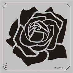 Rose Flower Stencil - Bing Images