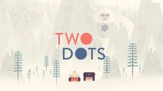 Two Dots: The makers of the hit game Dots are back with a brand new, addictive, free, puzzle game!  #puzzle #free #mobile #game #review #iOS #Android