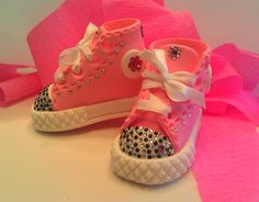 Baby Shoe Cake Topper Customize colors by ValenasCustomCakery, $25.00